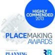 Place Studio project highly commended in placemaking awards!