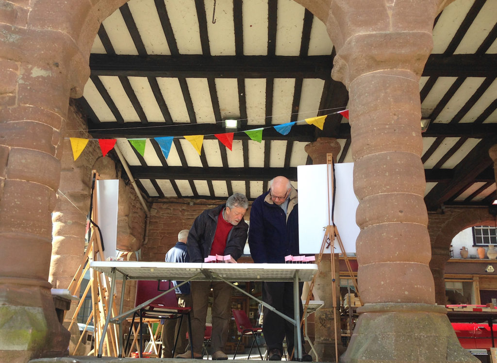 Consultation event at Market Place Ross on Wye
